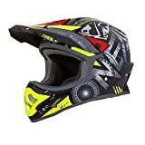 O'Neal 3Series Helium Motocross Helm MX MTB FR DH All Mountain Bike Freeride Downhill Fahrrad, 0623-H-Adult, Farbe Rot, Größe L