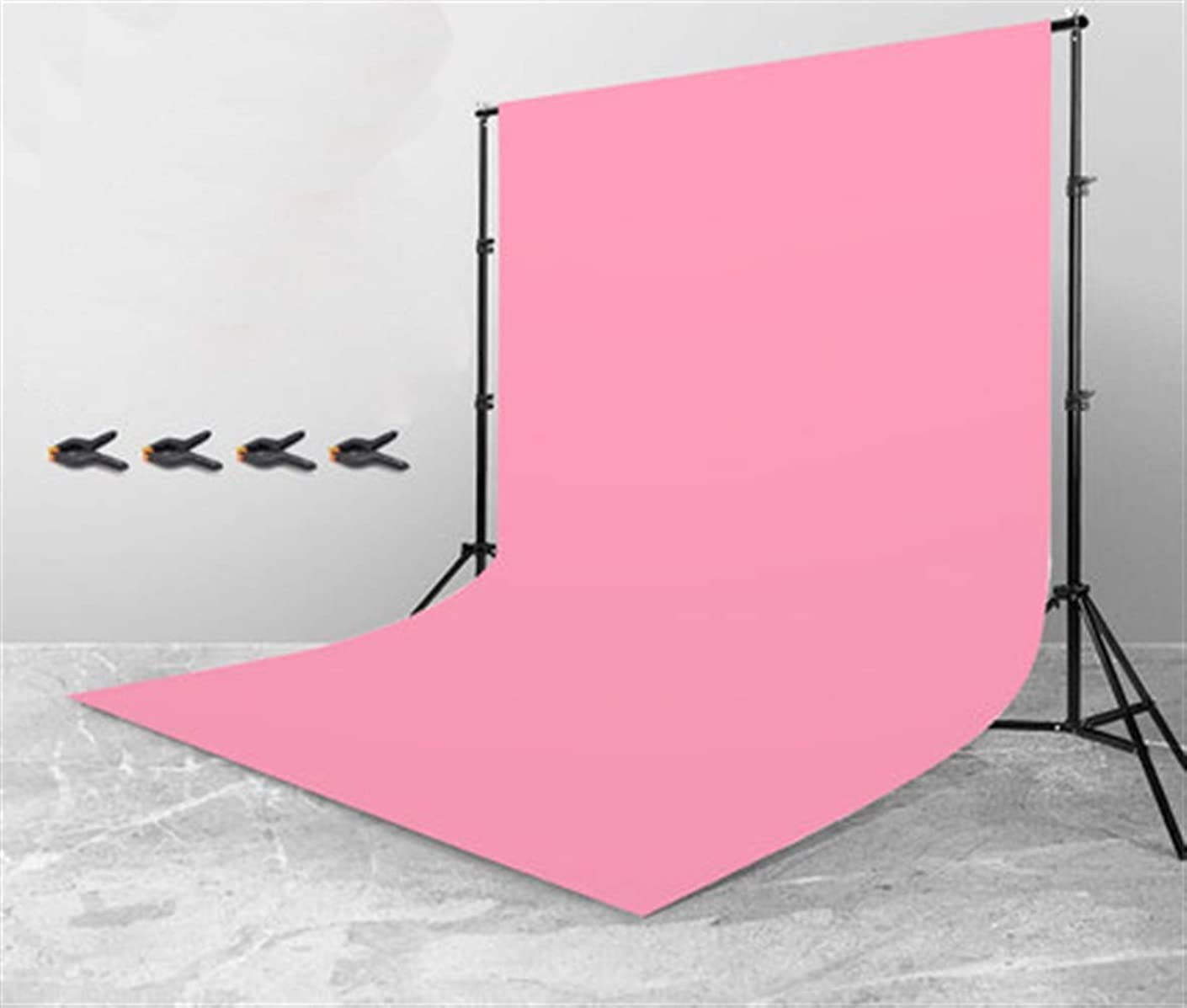 Icegrey Net Red Photo Convenient Props Bracket and Background Cloth Pink 5.2x6.6ft