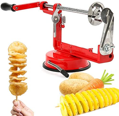 Aiky Twisted Potato Slicer Spiral Vegetable Slicer for Onion Carrot Cucumber Eggplant Sausage product image