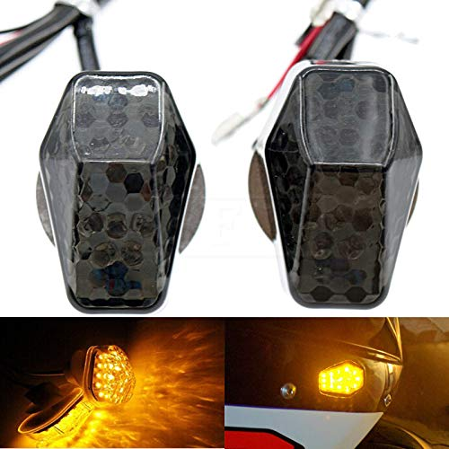 for Suzuki GSXR 600 750 1000 Bandit 600S 1200s 1250 1250S SV650 SV650S SV100 SV1000S DL650 DL1000 Motorcycle LED Flush Mount Turn Signals Indicators flashing lights blinkers