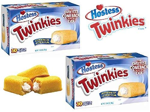 Twinkies Twin Pack - 20 Cakes