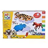 Simba Bügelperlen Art And Fun-Perline da Stirare Zoo, Colore, 106374279