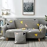 Asiento Funda de sofá Suave Stretch Force Funda de sofá elástica Universal Funda de canapé para casa Funda de sofá mágica A20 4 plazas