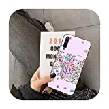 uulalala Coque Note de Musique pour Huawei Y5 II Y6 II Y5 Y6 Y7 Prime Y7Plus Y9 2018 2019-a8-For Y6...