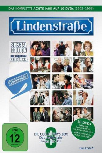 Lindenstraße - Das komplette 8. Jahr (Ltd. Edition mit Brieföffner) (10 DVDs)