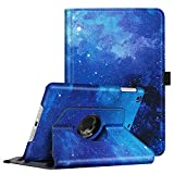 Fintie Rotating Case for iPad Mini 3/2 / 1-360 Degree Rotating Smart Stand Protective Cover with Auto Sleep/Wake for iPad Mini 1 / iPad Mini 2 / iPad Mini 3, Starry Sky