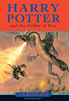 Paperback Harry Potter and the Goblet of Fire. J.K. Rowling Book