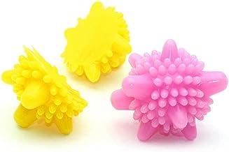 vvd Solid tvättboll tvätt kula hållbar tvättmaskin bollar för torka kläder (slumpmässiga färger) 10 st kökstillbehör