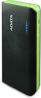 ADATA Powerbank Batería Portatil Color Negro con Verde 1000