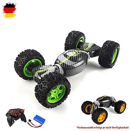 2in1 RC ferngesteuerter Off-Road Transformation Buggy, 2.4GHz Stunt Car Modell, Fahrzeug ,hochwertiger Crawler im Komplett-Set