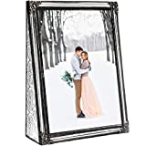 5x7 Picture Frame Clear Glass Wedding Photo Frame...