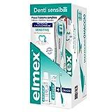 elmex Kit Sensitive Denti Sensibili 3in1...