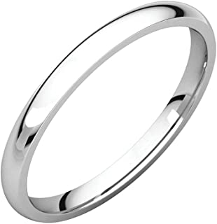 FB جواهر 925 الفضة الاسترليني 2 مم خفيفة الراحة صالح الرجال خاتم الزفاف الفرقة