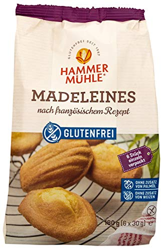 Hammermühle Madeleines glutenfrei 180g