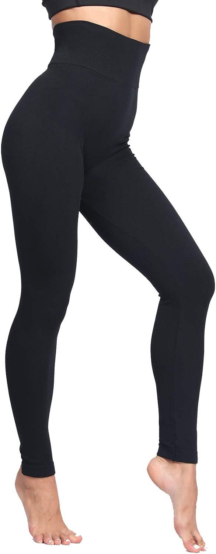 LUOYANXI Fleece Lined Leggings Women Thick High Waisted Winter Warm Leggings
