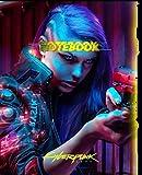CIBERPUNK 2077 MERCHANDISE NOTEBOOK colletor edition: ciberpunk77 notebook, journal collector edition for school o work