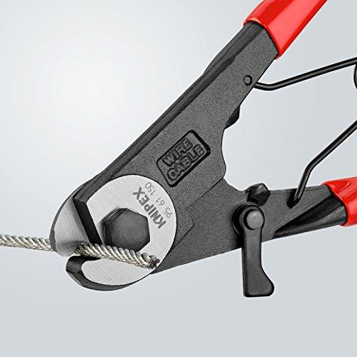 KNIPEX 95 61 150 Bowdenzugschneider mit Kunststoff überzogen 150 mm
