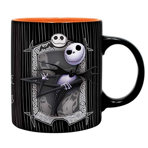ABYstyle - Disney - The Nightmare Before Christmas - Tasse - 320 ml - Jack & Null