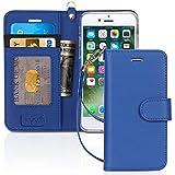 FYY Cover iPhone 8,Custodia iPhone 7,Cover iPhone 7,[RFID Blocco Portafoglio] Flip Custodia Portafoglio in...