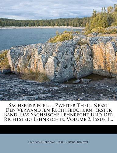 Repgow), E: Sachsenspiegels zweiter Theil, erster Band
