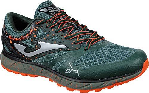 Joma SIMA Men 2027 Verde - Trail Running Técnico Hombre Cordones (41 EU, Verde)