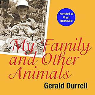 My Family and Other Animals audiobook cover art