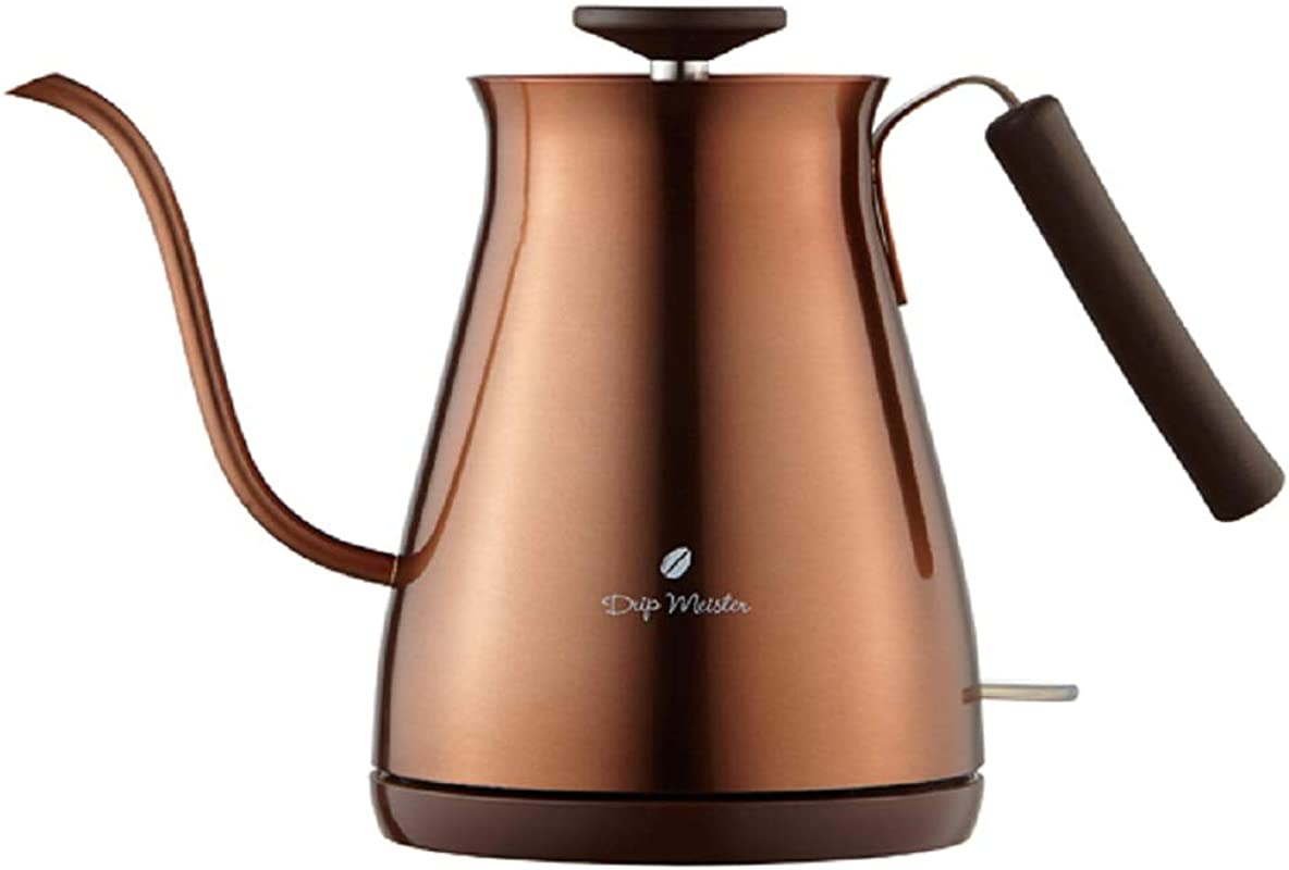 APIX Electric Cafe Kettle 0 7L APIX FSKK 8728 CP Copper Japan Domestic Genuine Products