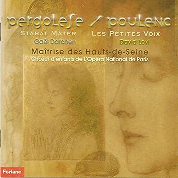 Jean Baptiste Pergolese : Stabat Mater - Francis Poulenc : Les petites voix