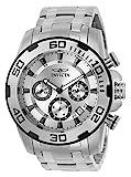 Reloj Invicta Pro Diver para Hombres 51mm, pulsera de Acero Inoxidable, cubierta de Zafiro