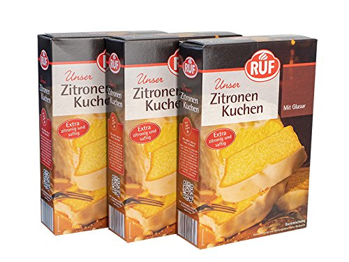 RUF Zitronen Kuchen 500g 3 Stück