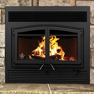 Boone Hearth FL-064 Flame Monaco XL Woodburning Fireplace