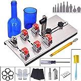 Glass Bottles Cutter kit/Bottles Cutter Tool/Glass Cutter Machine, 9 Pcs DIY Adjustable Glass