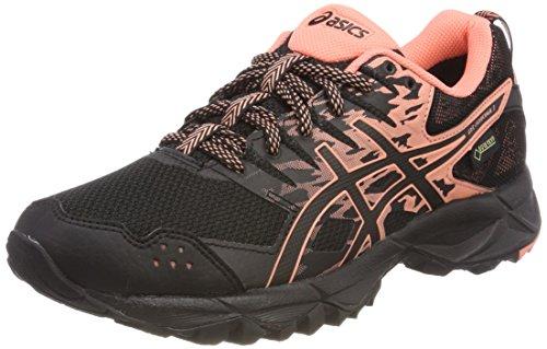 ASICS Gel-Sonoma 3 G-TX, Chaussures de Trail Femme, Noir (Black/Begonia Pink/Black 9006), 37 EU