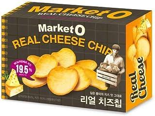[MarketO] オリオン マーケットオー リアル チーズ チップ 62g x 3個 / MarketO Real Cheese Chip / チェダーチーズとカマンベールチーズ