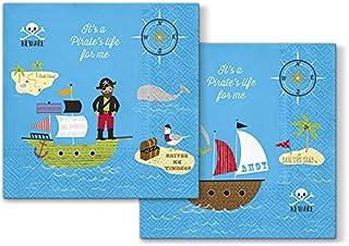Servietten Piratenschiff 20er Pack
