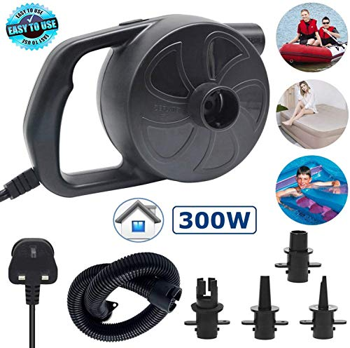 WALLE Electric Pump for Inflatables Airbed Mattress Pump Paddling Pools Toys Inflatable Pump (AC...
