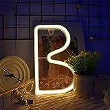 enuoli neon segni della lettera luce di notte della batteria o operated usb led marquee lettere al neon arte luci decorative migliore decorazione della parete della camera per i bambini bambino matri