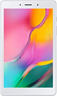 "Samsung Galaxy Tab A (SM-T295) 32GB, 8.0"", Factory Unlocked, International Version, No Warranty - Silver"