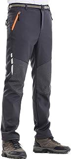 Comcrib Pantalones de Senderismo para Hombre Pantalones