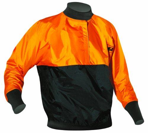 Camaro Kinder Paddeljacke Basic Jacke, Orange/Schwarz, XS