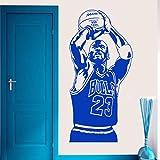 mlpnko Famoso Sports Star Vinilo Etiqueta de la Pared Mural hogardecoraciones Familiares para el hogar protección del Medio Ambiente PVC42x84cm
