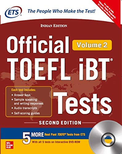 Official TOEFL iBT Tests Volume II W/DVD