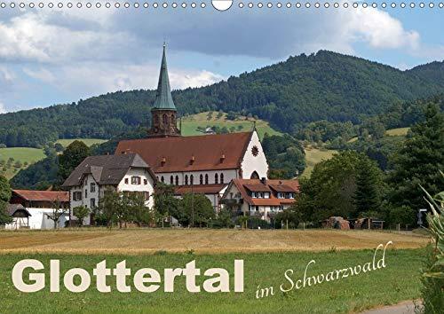 Glottertal im Schwarzwald (Wandkalender 2020 DIN A3 quer): Kontrastreich und faszinierend, ursprünglich und vielfältig, verbindet das Glottertal das ... (Monatskalender, 14 Seiten ) (CALVENDO Natur)