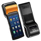 Sunmi V2 Android 7.1 portatile terminale 4G Smart terminale mobile POS con 58mm stampante termica, Android PDA altoparlante stampante termica 4G WiFi fotocamera scanner 1D / 2D Sim Card