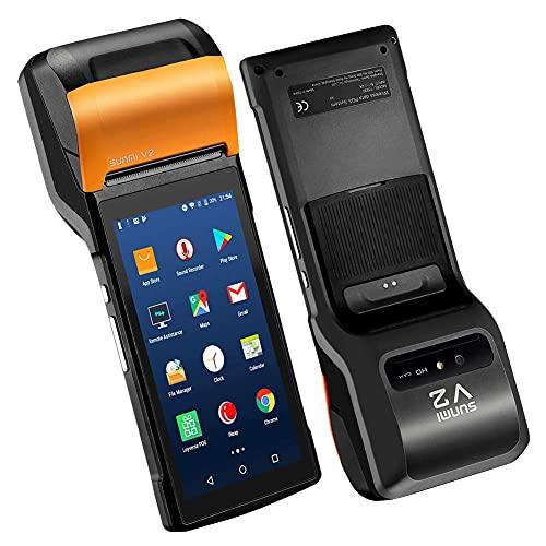 Sunmi V2 Android 7.1 portatile terminale 4G Smart terminale mobile POS con 58mm stampante termica, Android PDA...