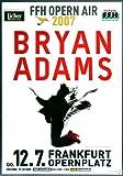 Bryan Adams - Open Air, Frankfurt 2007 »