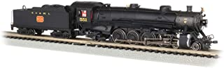 4-8-2 Light Mountain Dcc Sound Value Equiped Steam Locomotive NC & St. Louis #551 - N Scale