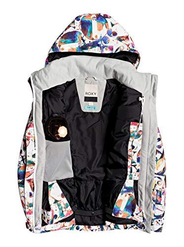 Roxy Jetty - Snow Jacket for Women - Schneejacke - Frauen - S - Weiss