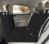 funda de asiento vehicular adaptable al animal mascota, funda de asiento anti-desgaste Alfheim adaptable al animal mascota, montada en los asientos de fila trasera vehicular, está equipada con la ancl