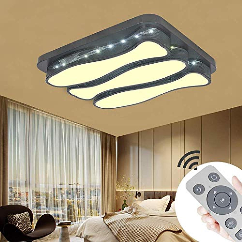 BMQXX 48W LED Moderne Deckenleuchte Dimmbar Deckenlampe Kreative Energiesparlampe für Flur Wohnzimmer Schlafzimmer Leuchte [Energieklasse A++]